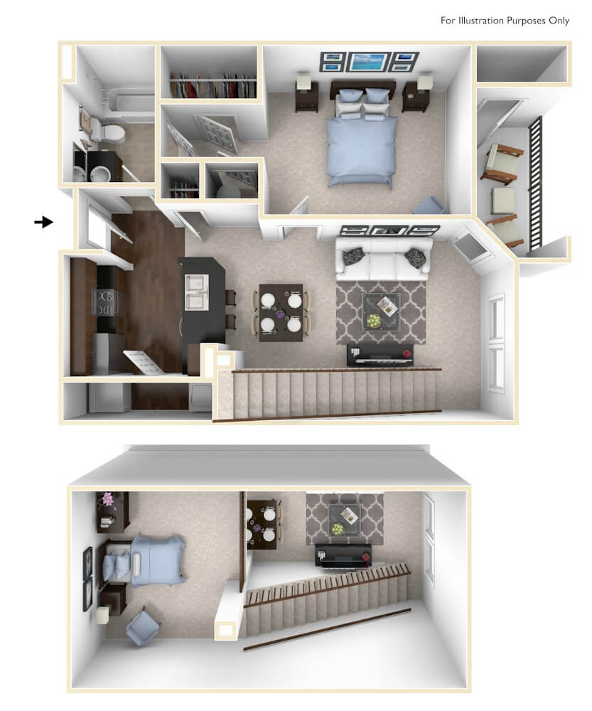 Cypress Floor Plan at The Regent